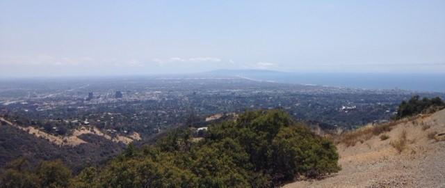 Lower Canyonback Trail, Santa Monica Mountains, CA
