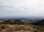 View from the foothills above Rancho Cucamonga, CA
