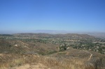 Panorama of Simi Valley from the Canyon View Trail