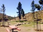 Haypress picnic area, Trans-Catalina Trail