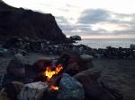 Campfire, Parsons Landing, Catalina Island