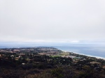 View of Point Dume from the Chumash Indian Trail, Malibu, CA