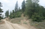 Trail head for Constance Peak, San Bernardino National Forest
