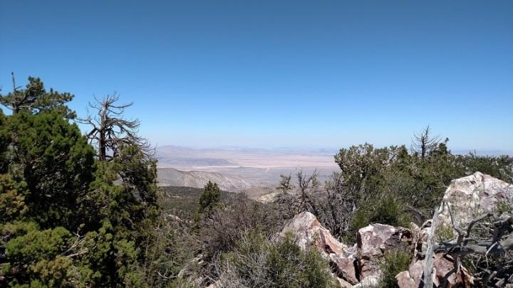 High desert from Gold Mountain, Big Bear Lake, CA