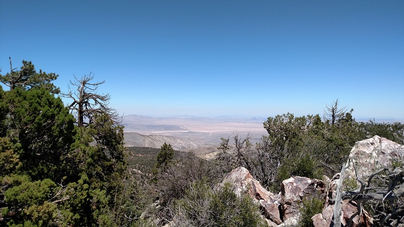High desert from Gold Mountain, Big Bear Lake, CA