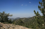 View from Mt. Pinos, Los Padres National Forest, Ventura County, CA
