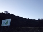 Trail head at Grant Park, Ventura, CA