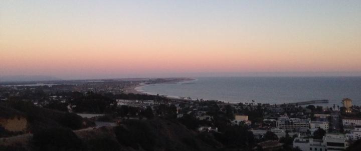 View from the Serra Cross, Ventura, CA