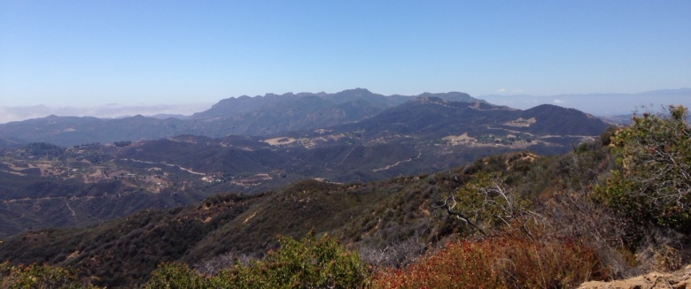 Boney Mountain, Santa Monica Mountains, CA