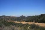 Mitten Mountain as seen from the Zuma Ridge Motorway, Santa Monica Mountains, CA