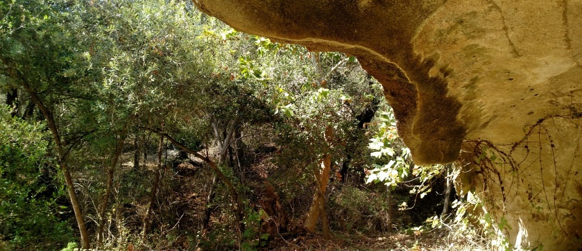 Cave in Crystal Cove State Park, Orange County, CA
