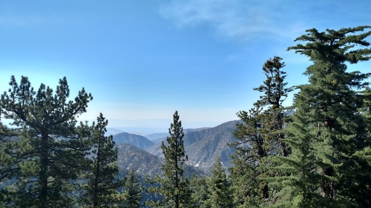 View from Kratka Ridge, Angeles National Forest, CA