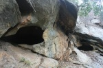 Sandstone caves, Buena Vista Canyon, Montecito, CA