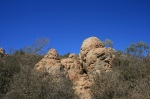 Geology on the Cowles Mountain Trail, San Diego, CA