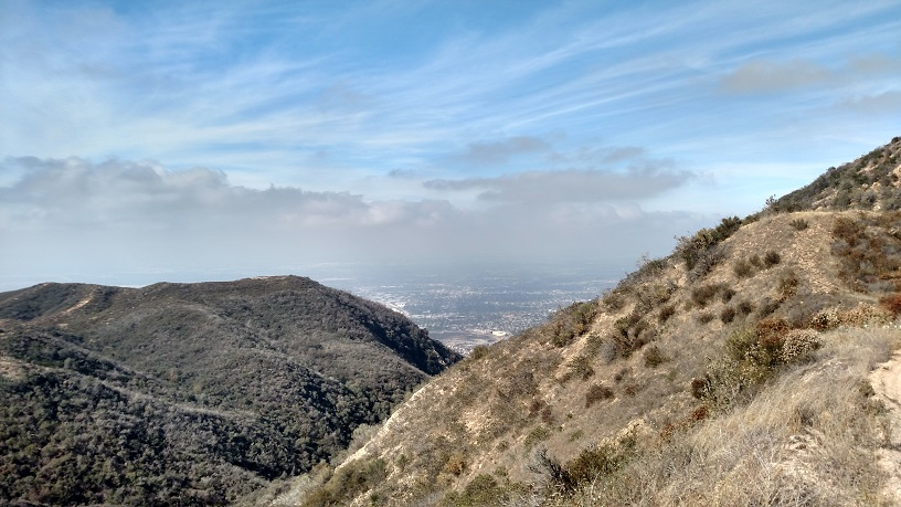 San Fernando Valley as seen from the Kagel Truck Trail, Angeles National Forest, CA