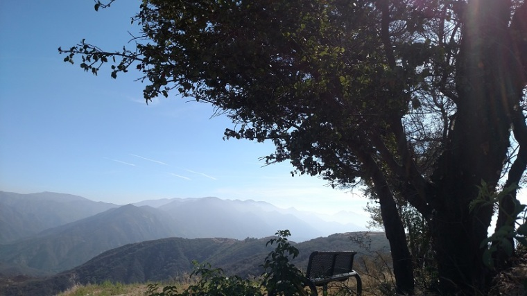 View from Kagel Mountain, Angeles National Forest, CA