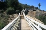 Footbridge, Coast Walk Trail, La Jolla, CA