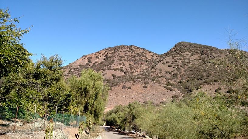 Hills above Falcon Ridge Ranch, San Dimas, CA