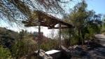 Viewing bench at Falcon Ridge Ranch, San Dimas, CA