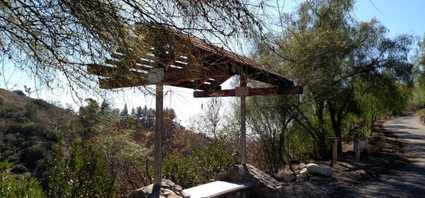 Viewing bench, Falcon Ridge Ranch, San Dimas, CA