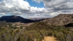Panorama of the Santa Monica Mountains from Malibu Creek State Park, CA