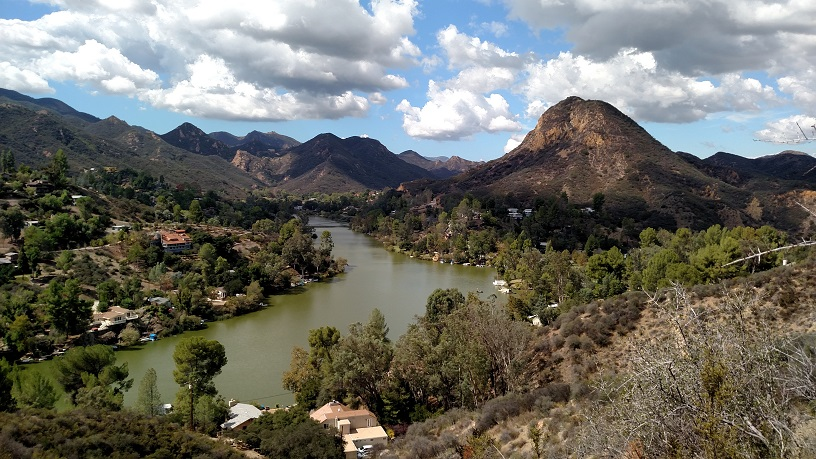 Malibou Lake, Santa Monica Mountains, CA