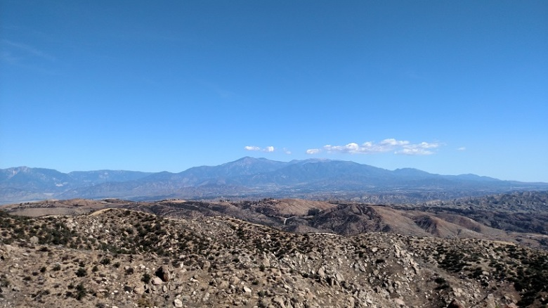 View from Olive Hill, Moreno Valley, CA