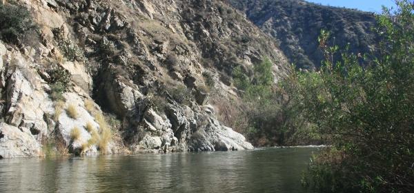 San Gabriel River, Angeles National Forest, CA