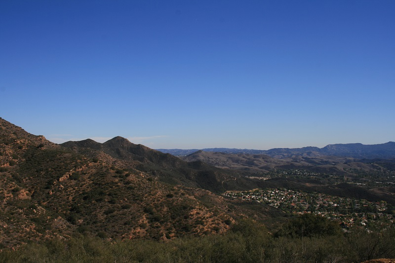 Vista point at North Ranch Open Space, Thousand Oaks, CA