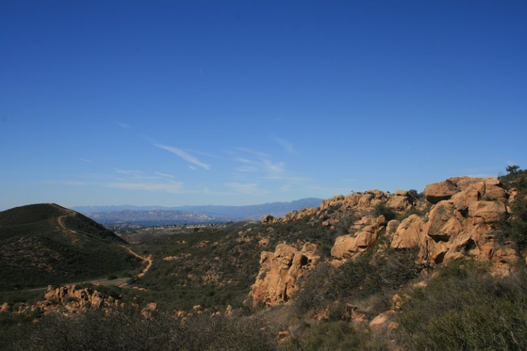 Sandstone Hills Trail at North Ranch Open Space, Thousand Oaks, CA