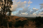 Orange County panorama from the Orchard Hills hiking trail, Irvine, CA