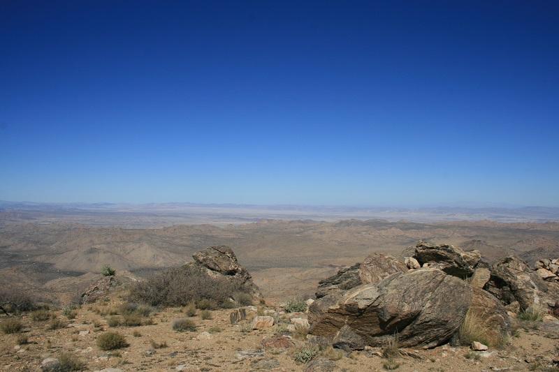 View from Quail Mountain, Joshua Tree National Park