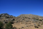 Eastern ridge of Quail Mountain, Joshua Tree National Park