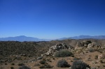 Looking west from Quail Mountain, Joshua Tree National Park