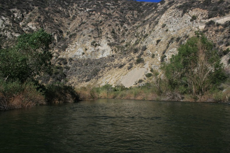 San Gabriel River, Angeles National Forest, CA