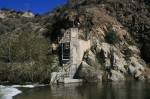 Abandoned gauging station, San Gabriel River, Angeles National Forest, CA
