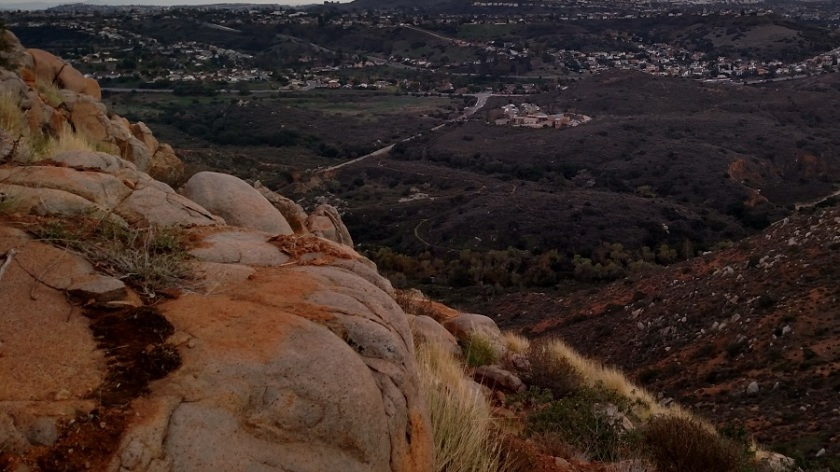 Descent from South Fortuna Mountain, Mission Trails Regional Park, San Diego, CA