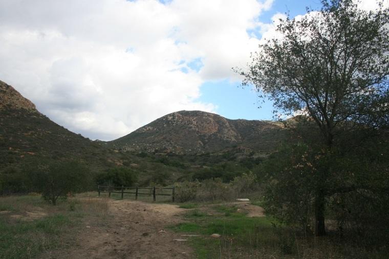 Pyles Peak from the Oak Grove Trail, Mission Trails Regional Park, San Diego, CA