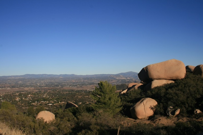 View from Mt. Woodson, San Diego, CA