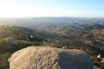 View from Potato Chip Rock, Mount Woodson, Ramona, CA