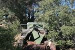Abandoned car at Wall Street Stamp Mill, Joshua Tree National Park