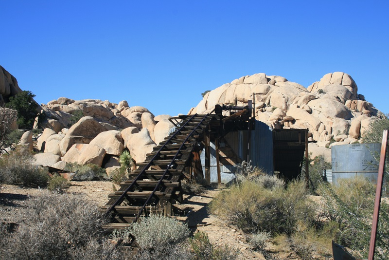 Wall Street Stamp Mill, Joshua Tree National Park