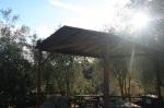 Picnic shelter, Jesuita Trail, Santa Barbara, CA