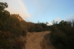 Dirt road, Jesuita Trail, Santa Barbara, CA