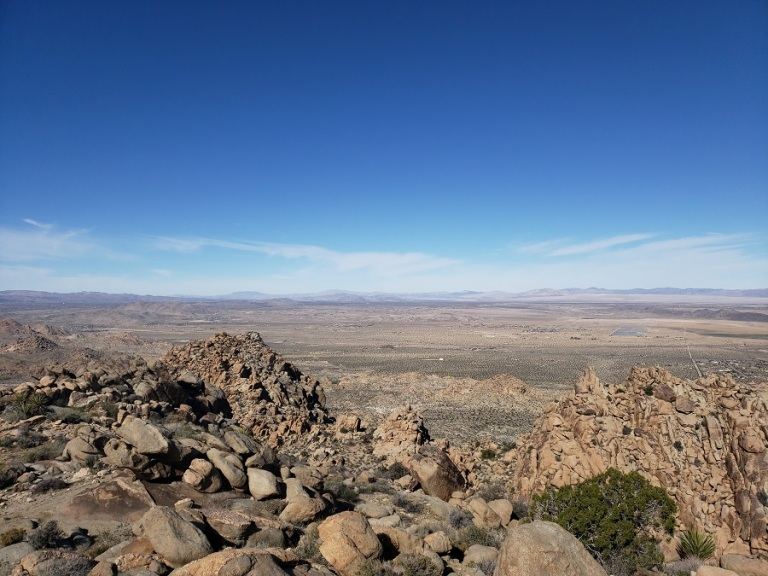 Copper Mountain View Point, Joshua Tree National Park