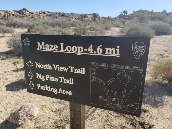 Maze Loop, Joshua Tree National Park
