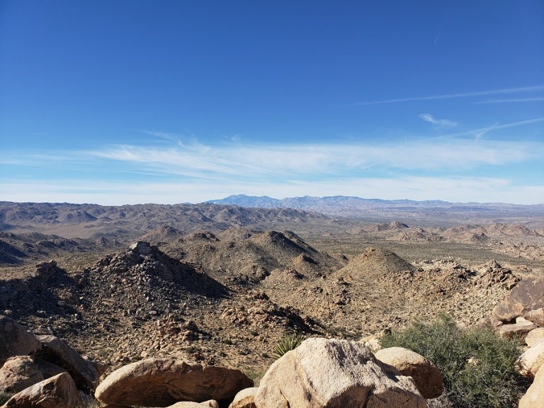 Western Hills View Point, Joshua Tree National Park