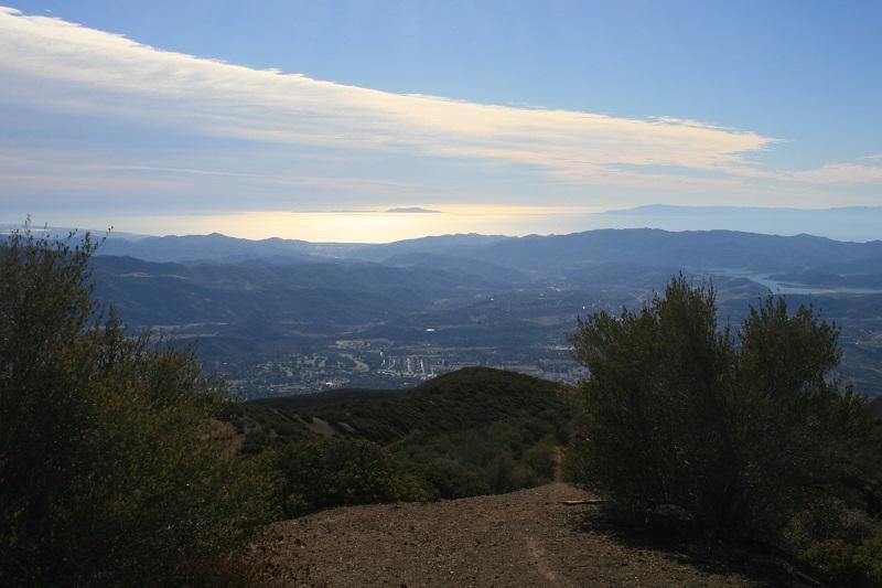 Ocean view, Nordhoff Peak, Ojai, CA