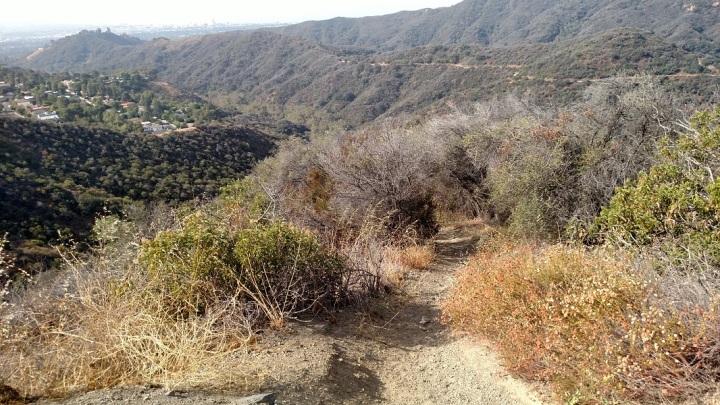 Westridge Spur Trail, Sullivan Canyon, Los Angeles, CA