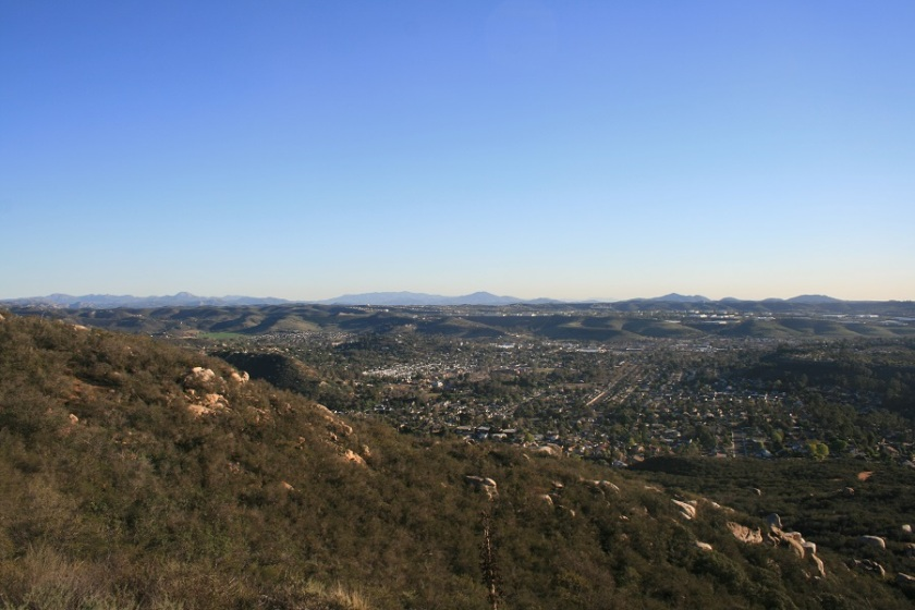 View from Twin Peaks, Poway, CA